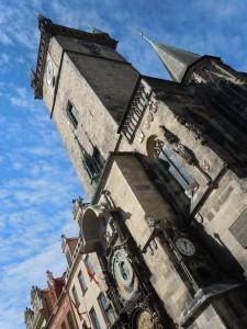 Astronomical clock in Prague (photo/Cindy Hadish)