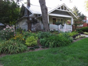 The John Chase garden will be on this year's Project Green tour. (photo/John Chase)