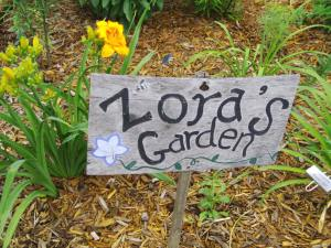 Zora and Paul Ronan of rural Central City will host an open garden on Sunday, July 21, 2013. (photo/Cindy Hadish)