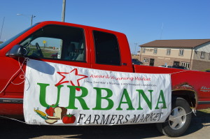 The indoor Urbana Farmers Market is held in the Community Room below City Hall, just off Interstate 380, on the second Saturday of the month. (photo/Cindy Hadish)