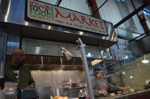 Iowa Soul Food will no longer have a spot at the NewBo City Market, as of the last weekend in February 2014. (photo/Cindy Hadish)