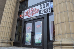 NewBo Alehouse opened Wednesday, March 5, 2014, in the historic Village Bank & Trust building. (photo/Cindy Hadish)