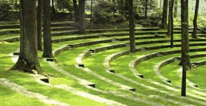 Proposed amphitheater design