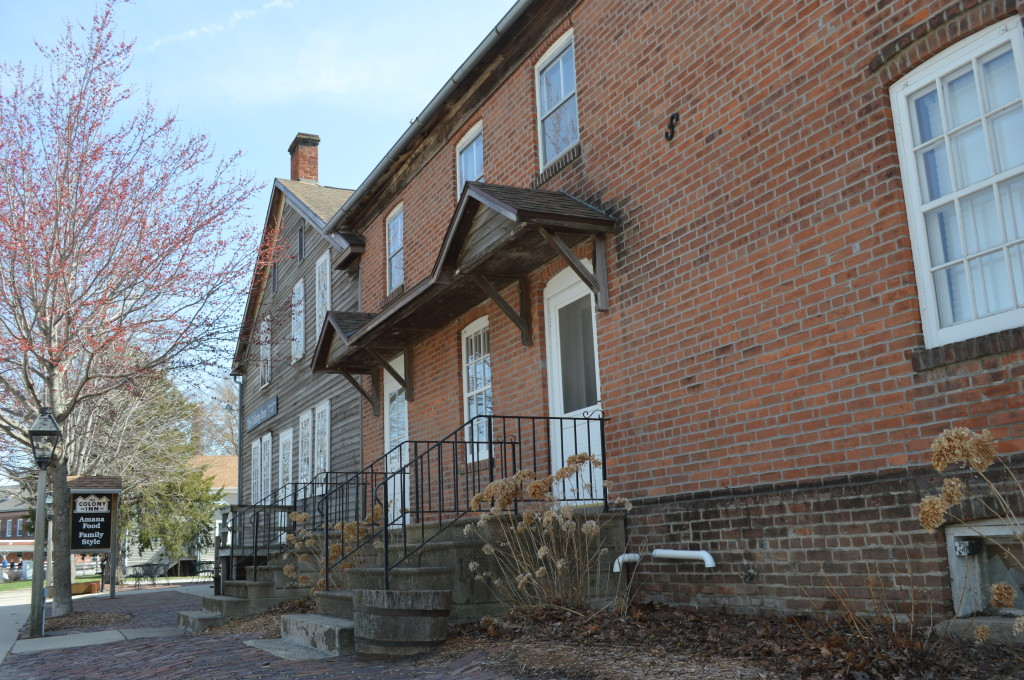 The Colony Inn, Amana's oldest restaurant, began in 1935 in a building that originated as a hotel. (photo/Cindy Hadish)