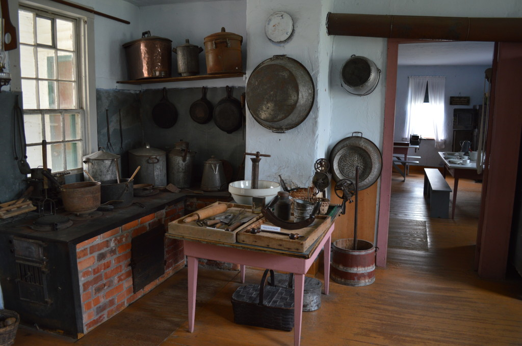 The Communal Kitchen Museum is shown in Middle Amana. (photo/Cindy Hadish)