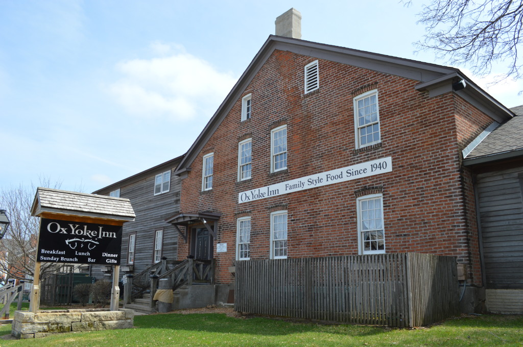Four generations of the Leichsenring family have worked at the Ox Yoke Inn. (photo/Cindy Hadish)