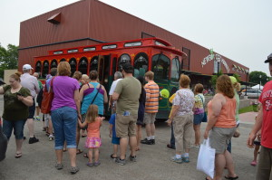 Finding the trolley; likes and dislikes about the Downtown Farmers Market in Cedar Rapids