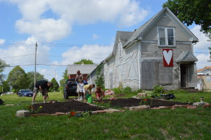 Vacant flood lot proves value as garden in New Bohemia