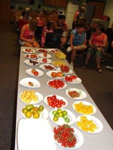 A tomato tasting is among the events set for Sat., Aug. 23, 2014, in Ely. (photo/Ali Alldredge)