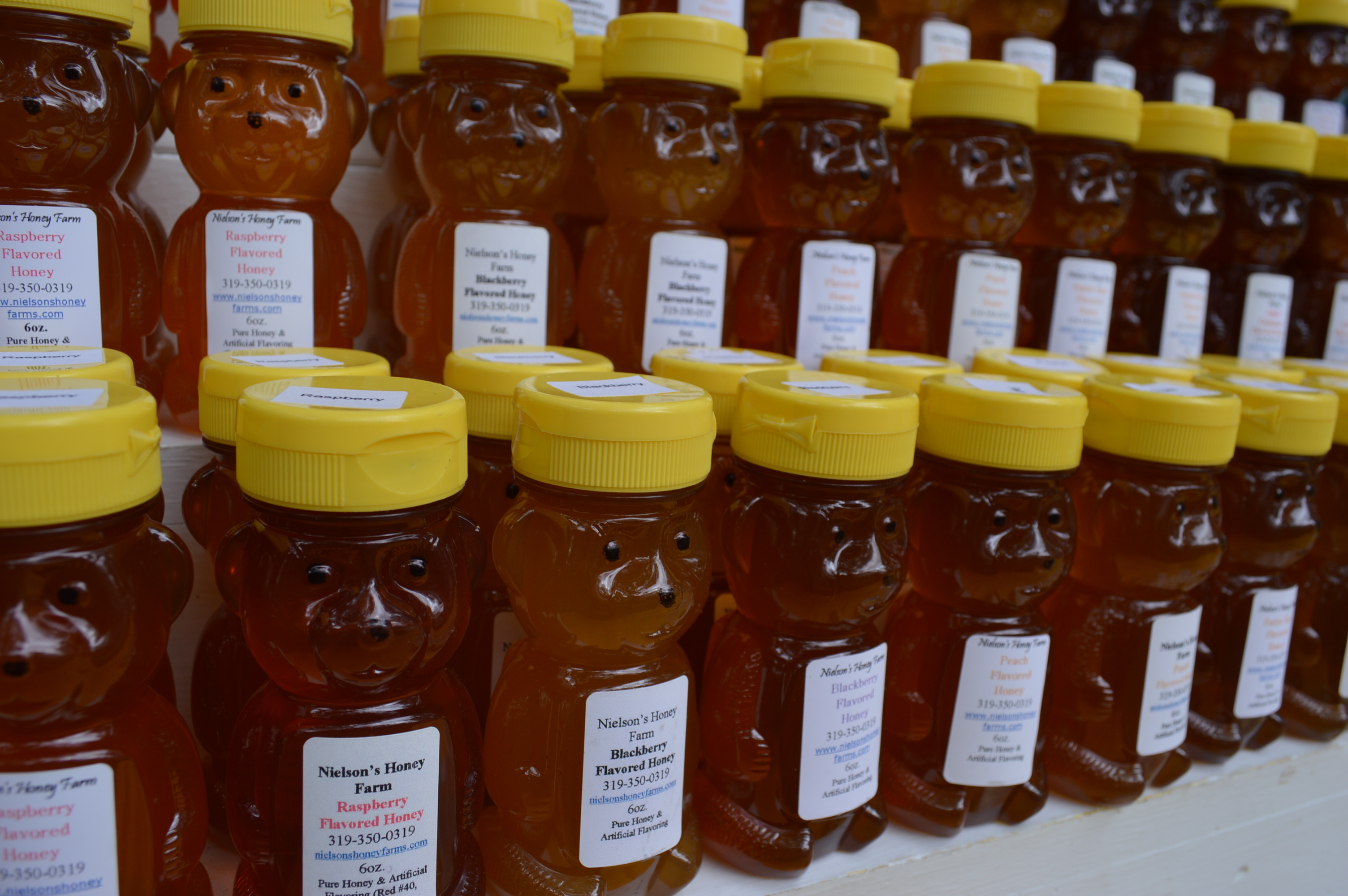 Popular Flavors of Honey Variety