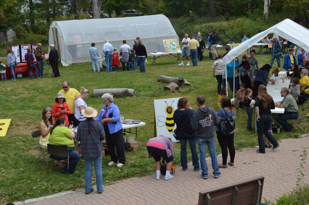 Fair-goers had a fairly nice day to enjoy Honey Fest on Sunday, Sept. 21, 2014, at the Indian Creek Nature Center. (photo/Cindy Hadish)