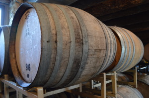 About 20 bushels of apples are used in each barrel, with each barrel producing 300 bottles of hard cider. (photo/Cindy Hadish)