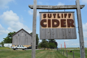 Sutliff Cider is located on Scott and Pia Ervin's 40-acre farm just south of Lisbon in scenic rural Linn County. (photo/Cindy Hadish)