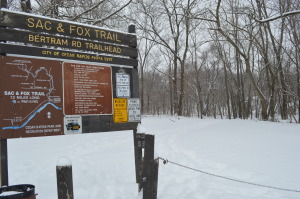 Wintertime offers outdoor opportunities for exercise in Iowa