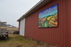 Customers of the Abbe Hills Farm CSA often visit the farm in rural Mount Vernon. (photo/Cindy Hadish)