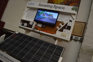 Solar energy will be key in making the new Indian Creek Nature Center's headquarters sustainable. (photo/Cindy Hadish)