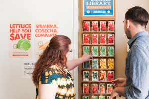 Seed library at Iowa food pantry promotes gardening