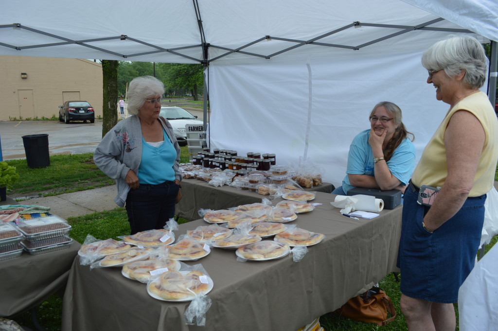 Kolaches, jams and more were sold by Home Made by Theresa of Ely. (photo/Cindy Hadish)