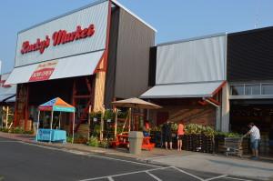 The new Lucky's Market opened Wednesday, July 1, 2015, in Iowa City. (photo/Cindy Hadish)