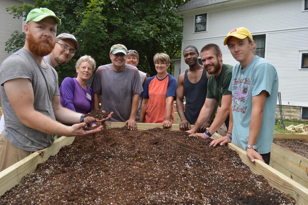 New garden brings community together in Cedar Rapids neighborhood