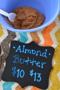 Natural nut butters spread from base in Cedar Rapids