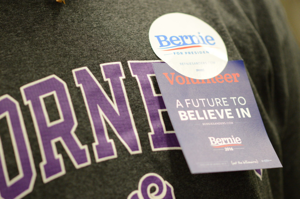 bernie volunteer