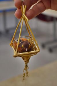 Bird ornaments represent joy and cheerfulness. (photo/Cindy Hadish)