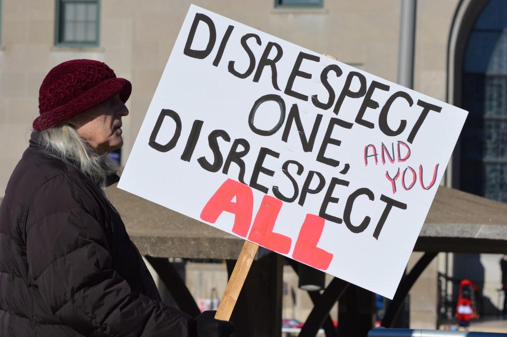 trump disrespect