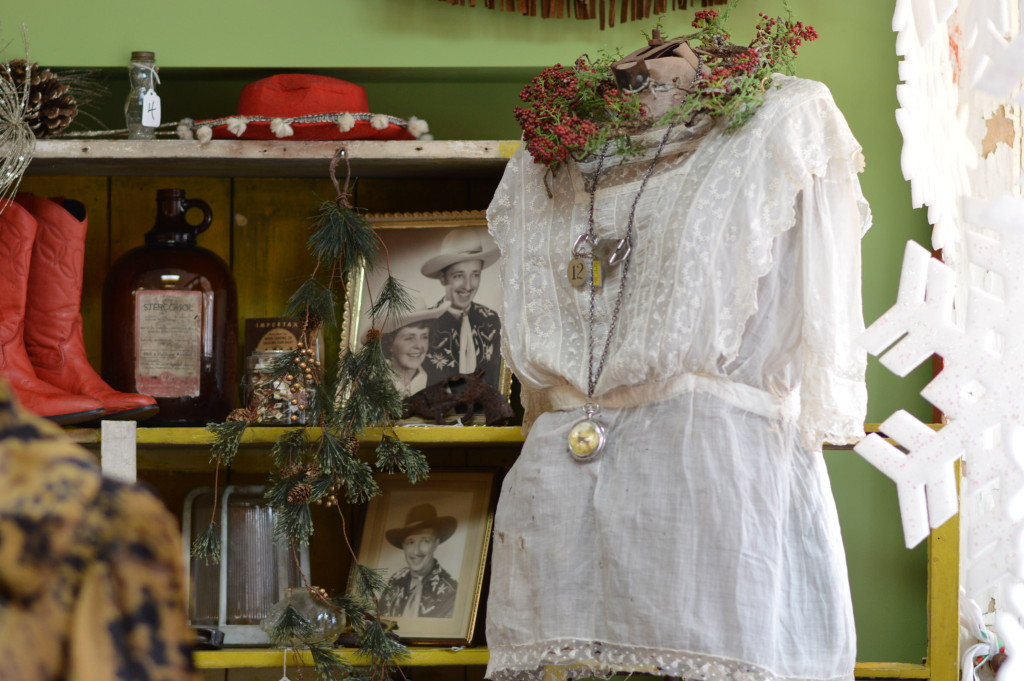 The Copper Alligator, 65 16th Ave. SW, in Czech Village, specializes in vintage fashions, including retro clothing, hats and shoes, with an array of other eclectic items. (photo/Cindy Hadish)