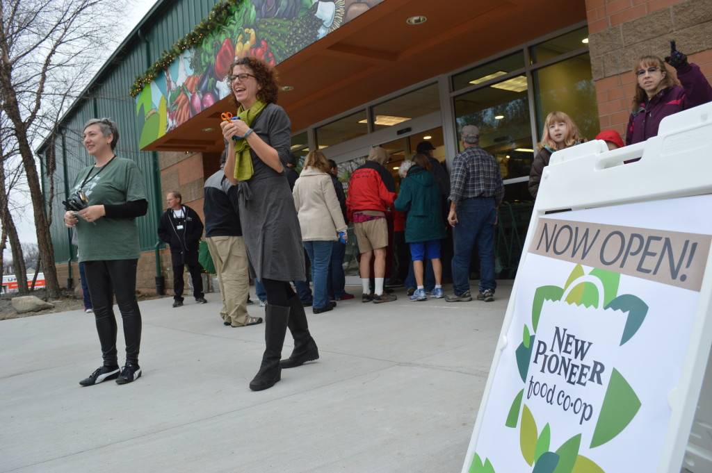 New Pioneer Food Co-op opened its new store at 3338 Center Point Rd. NE in Cedar Rapids, in December 2014. (photo/Cindy Hadish)