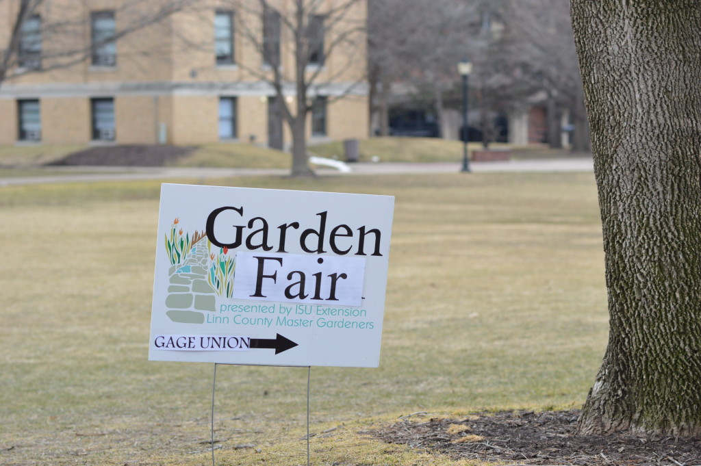 Coe College was the setting for the 2016 Winter Gardening Fair in Cedar Rapids, Iowa. (photo/Cindy Hadish)