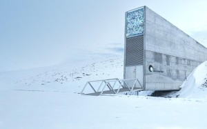 Svalbard Global Seed Vault in Norway. (Photo courtesy of the Global Crop Diversity Trust)