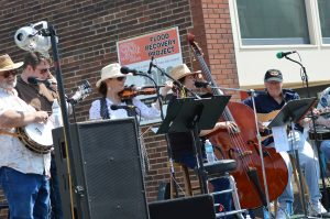 Live music was among the attractions at Houby Days 2016. (photo/Cindy Hadish)