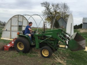 Anthony Troy left his corporate sales position to pursue farming. (photo/courtesy Anthony Troy)
