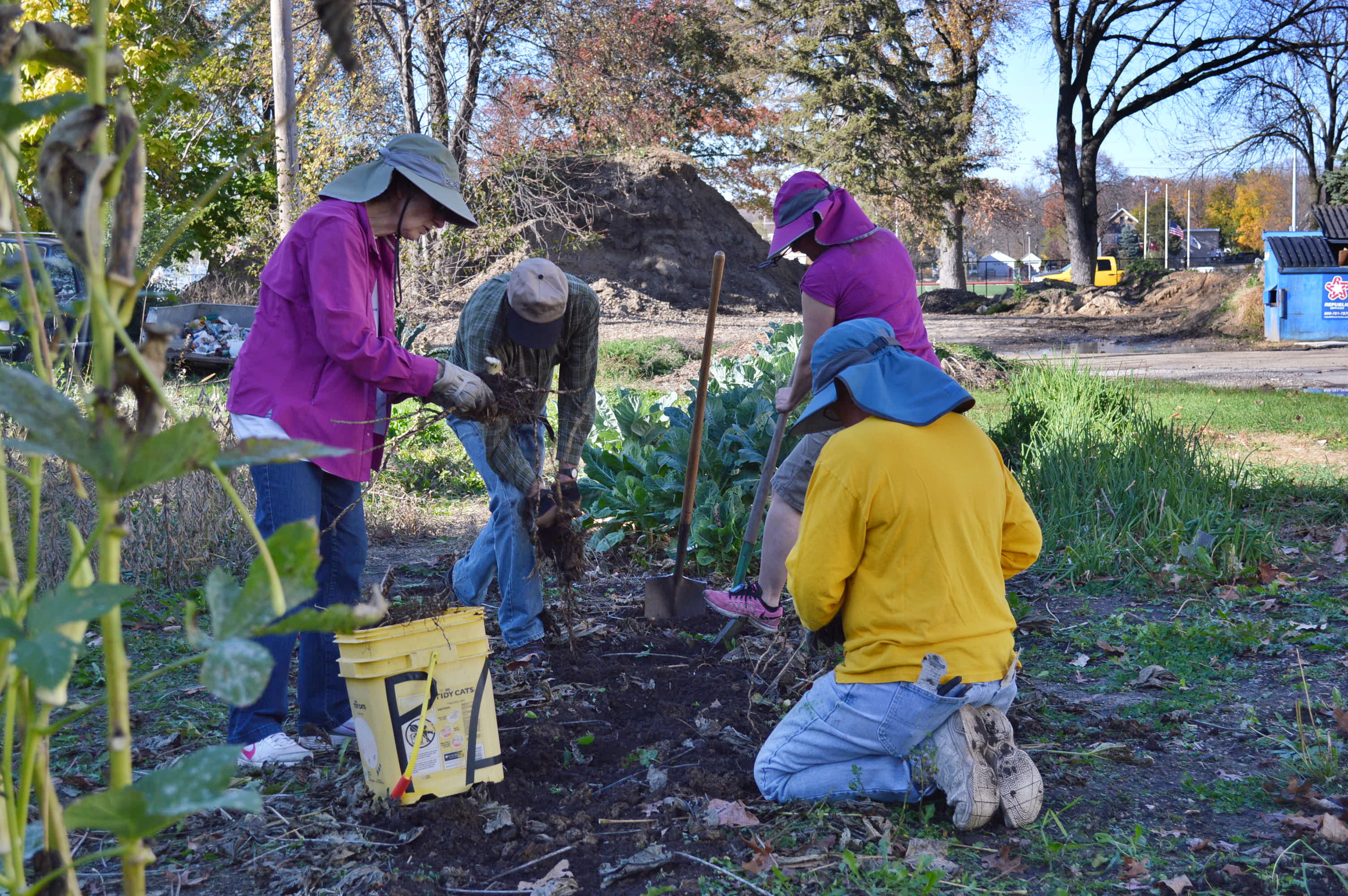 Community grows in Mound View Neighborhood garden