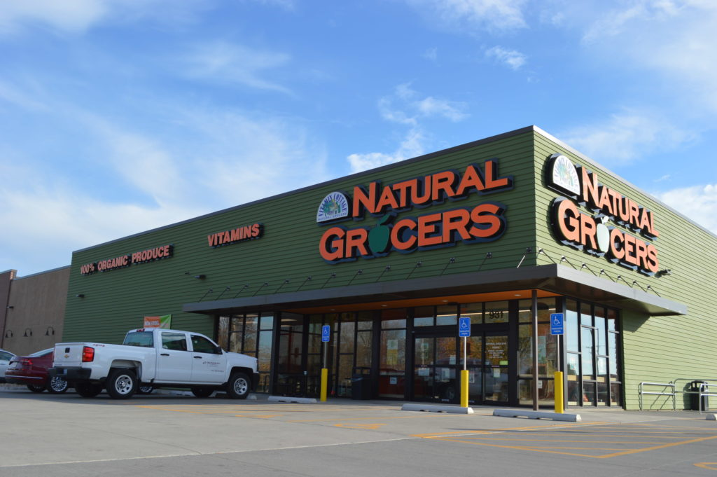 Natural Grocers officially opens the doors to its new Cedar Rapids store on Wednesday, Nov. 23, 2016, but held a pre-opening party on Nov. 22. (photo/Cindy Hadish)