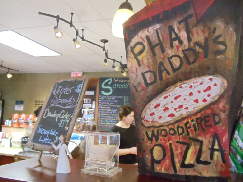 Pizza/coffee combo uncovered in Amana Colonies