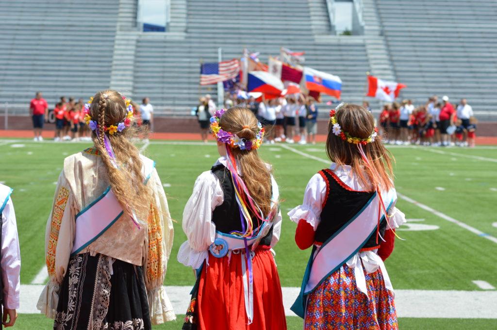 Photos: American Sokol XXIV National Slet and Festival closing ceremonies