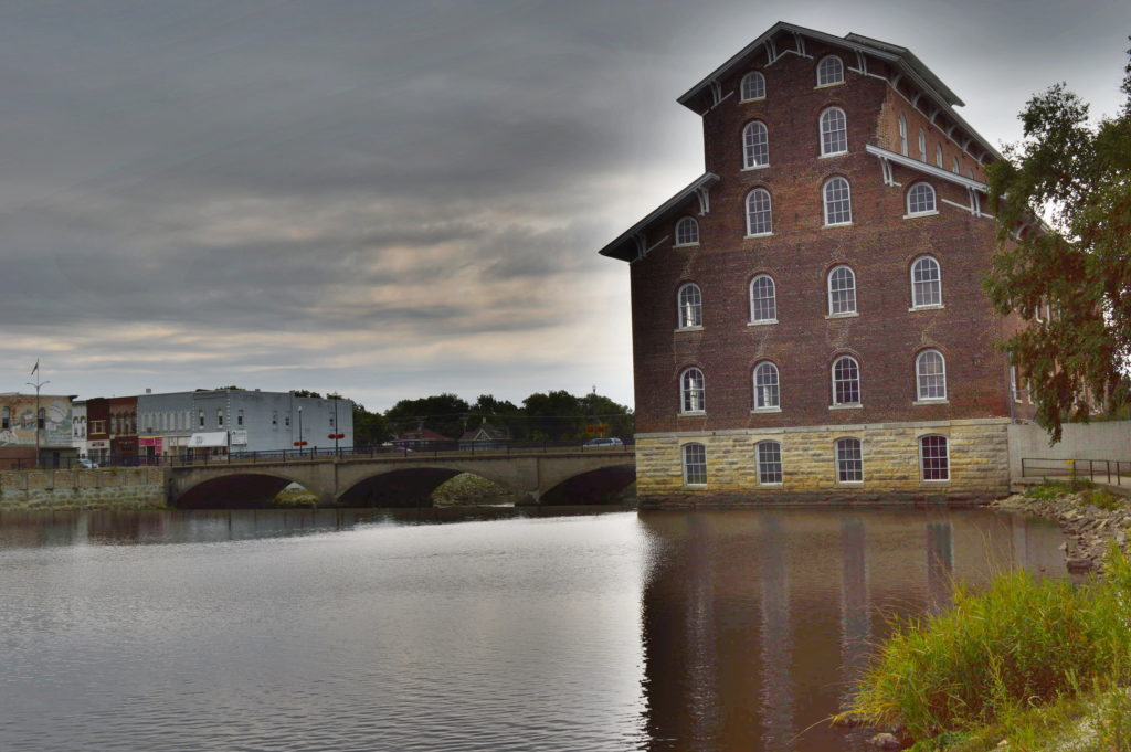 Step back in time into one of Iowa's largest historic mills